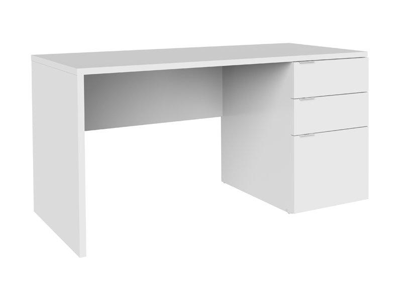 escritorio blanco juvenil de cajones