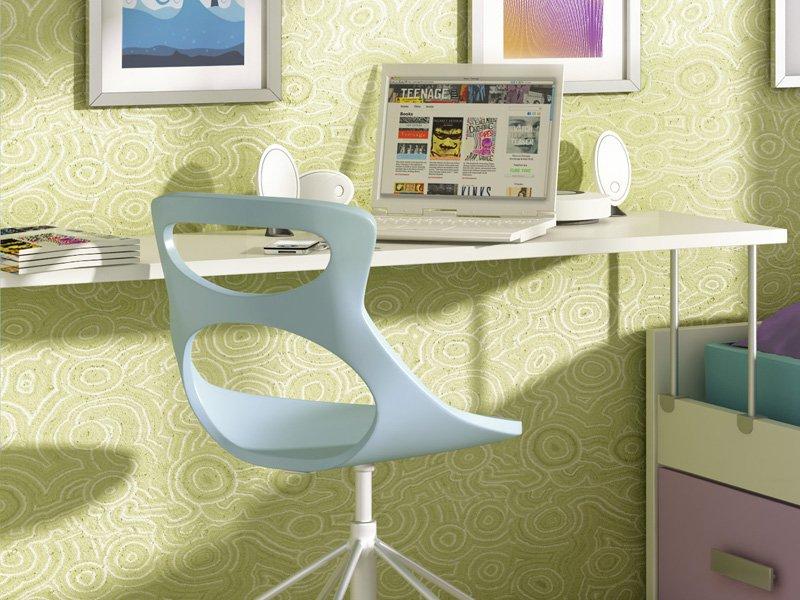 Mesa escritorio con soporte de cama nido para espacios for Zapateros para espacios reducidos