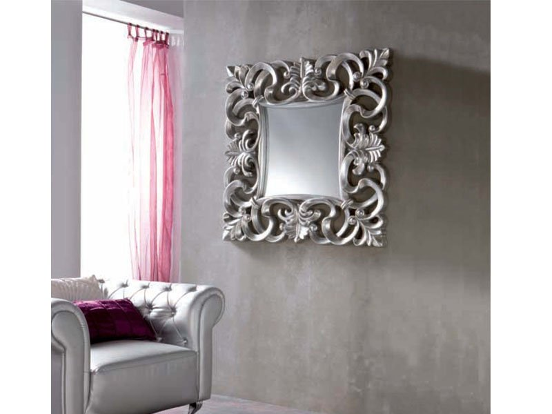 Espejo cuadrado elegante oferta espejo elegante lacado online - Espejos para dormitorios ...