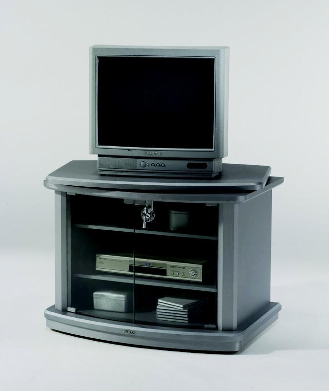 Mueble de televisor con estanter a cds mueble sal n para - Mueble tv con ruedas ...