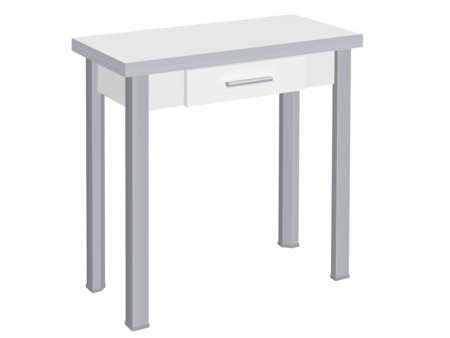 Mesa para cocina con caj n frontal y de formato extensible for Cocina 88 el cajon