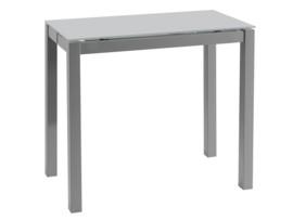Mesa de cocina extensible, apertura lateral