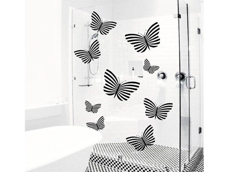 cuadro de mariposas grandes en vinilo