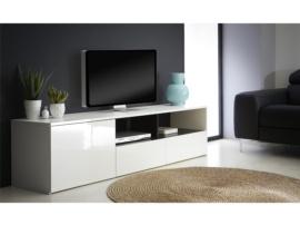 Mueble de tv. Diseño blanco