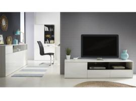 mueble de tv diseo blanco