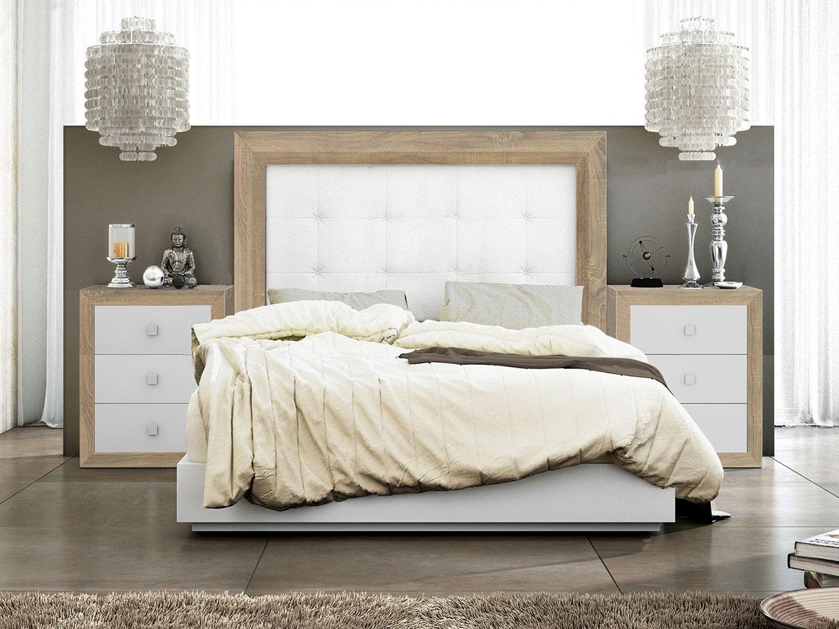 Mueble dormitorio con colores étnicos