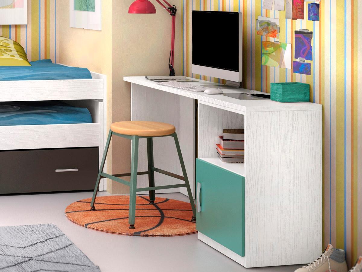 Mesa escritorio basic en diferentes colores y medidas - Mesa escritorio juvenil ...