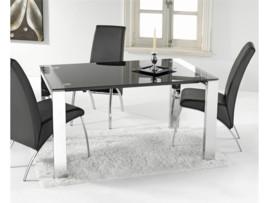 Mesa extensible lateral blanca o negra