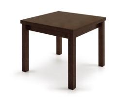 Mesa extensible sencilla apertura vertical tipo libro en - Mesa comedor tipo libro ...