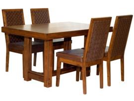 Mesa de comedor de estilo étnico