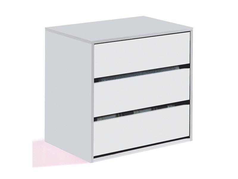 Cajonera interior de armario en color blanco para organizarte mejor