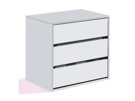 Cajonera interior de armario en color blanco para - Cajonera interior armario ikea ...