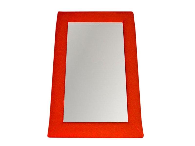 espejo de decoracin tapizado