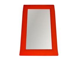 Espejo de decoración tapizado