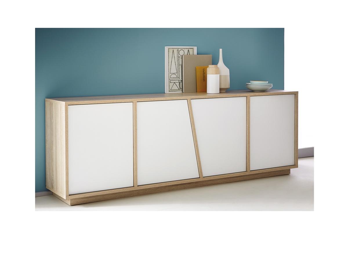 Aparador salón en módulos, mueble aparador con diseño actual en ...