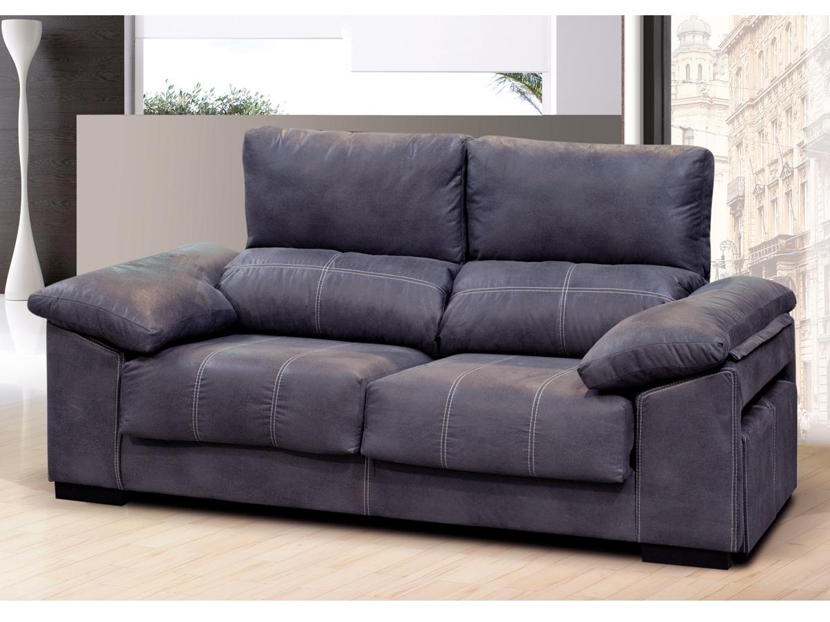 Sof reclinable tapizado en chenillas comprar sof abatible - Sofas cama comodos ...