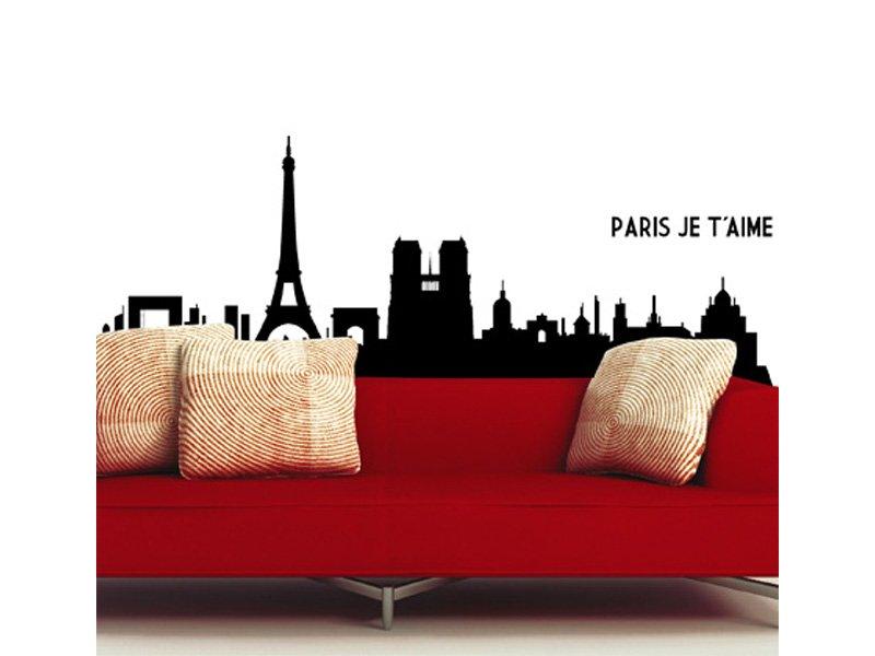 Vinilo cuadro París, vinilo decorativo ciudad de París, Francia