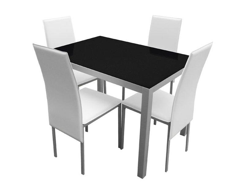mesa de cocina y sillas, sillas tapizadas cocina, mesa diseño cocina, sillas polipiel blanca, sillas polipiel negra, conjunto mesa y sillas cocina, sillas de cocina y mesa, comprar sillas tapizadas cocina, comprar mesa diseño cocina, comprar sillas polipiel blanca, comprar sillas polipiel negra