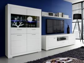 Mueble de salón para tv en blanco