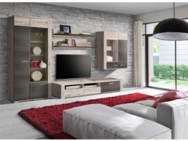 Mueble de madera de roble para salón