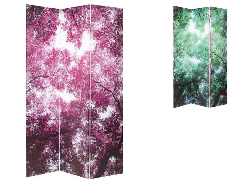 Biombo digital floral 120x180 cm for Santiago pons decoracion