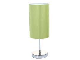 Lámpara metal verde 15x15x25 cm