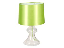 Lámpara cristal verde 25x25x30 cm