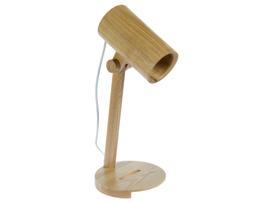 Lámpara foco mad.17x17x40 cm