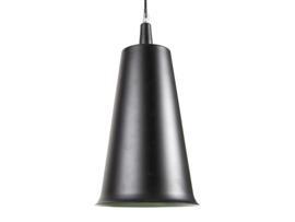 Lámpara techo negra 20x20x39cm