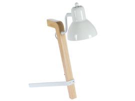 Lámpara flexo blanca 30x20x44 cm
