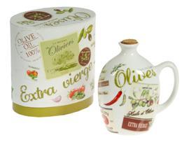 Aceitera olives porcelana 10x6x19