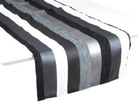 Camino de mesa motegi 40x135 negro