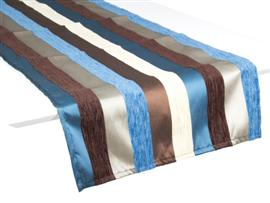 Camino de mesa motegi 40x135 azul
