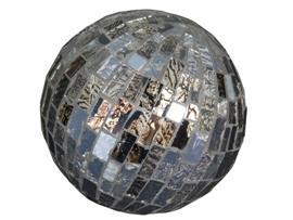Bola mosaico cristal 10 cm