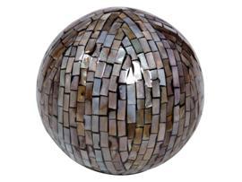 Bola cerámica perla 13 cm