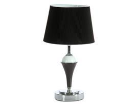Lámpara mesa negra 22x22x35 cm
