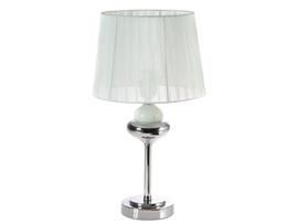 Lámpara mesa blanca 27x27x44 cm