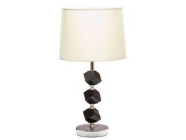 Lámpara cristal negro 28x50