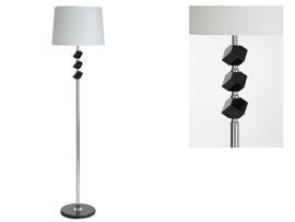 Lámpara con cristal negro 40x160