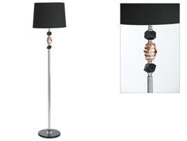 Lámpara ámbar/negro 40x160