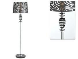 Lámpara cristal plata 40x160