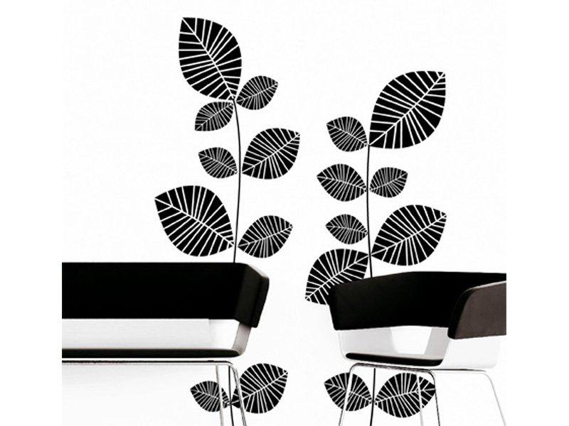 Vinilo hojas de pared para interiores de hogar sal n y - Vinilos salon comedor ...