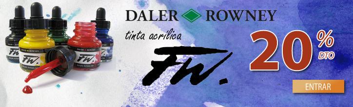 Tintas Daler Rowney FW en oferta