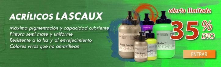 Acrilicos Lascaux, promoción limitada