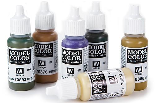 Vallejo: acrílico líquido Model Color 17 ml