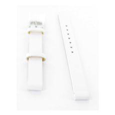 46824-05 VICEROY WATCH BAND LEATHER WHITE