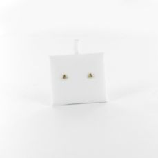GOLD EARRINGS FOR BABIES TRIANGLE AD150631/15ZIR