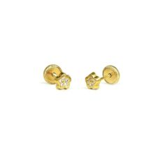 GOLD EARRINGS FOR BABIES 182771/15ZIR