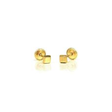 GOLD EARRINGS FOR BABIES A1196R