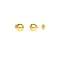 GOLD EARRINGS FOR BABIES 11358AO